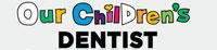 out children's dentist logo 200 by 46 pixels