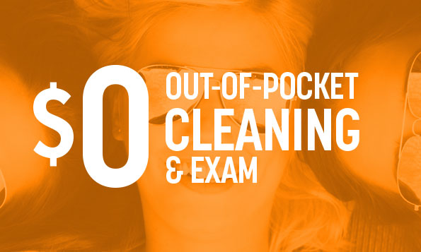 out-of-pocket teeth cleaning and exam special offer