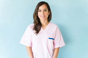 caring female dental specialty service staff member for specialty dental services Sugar Land tx